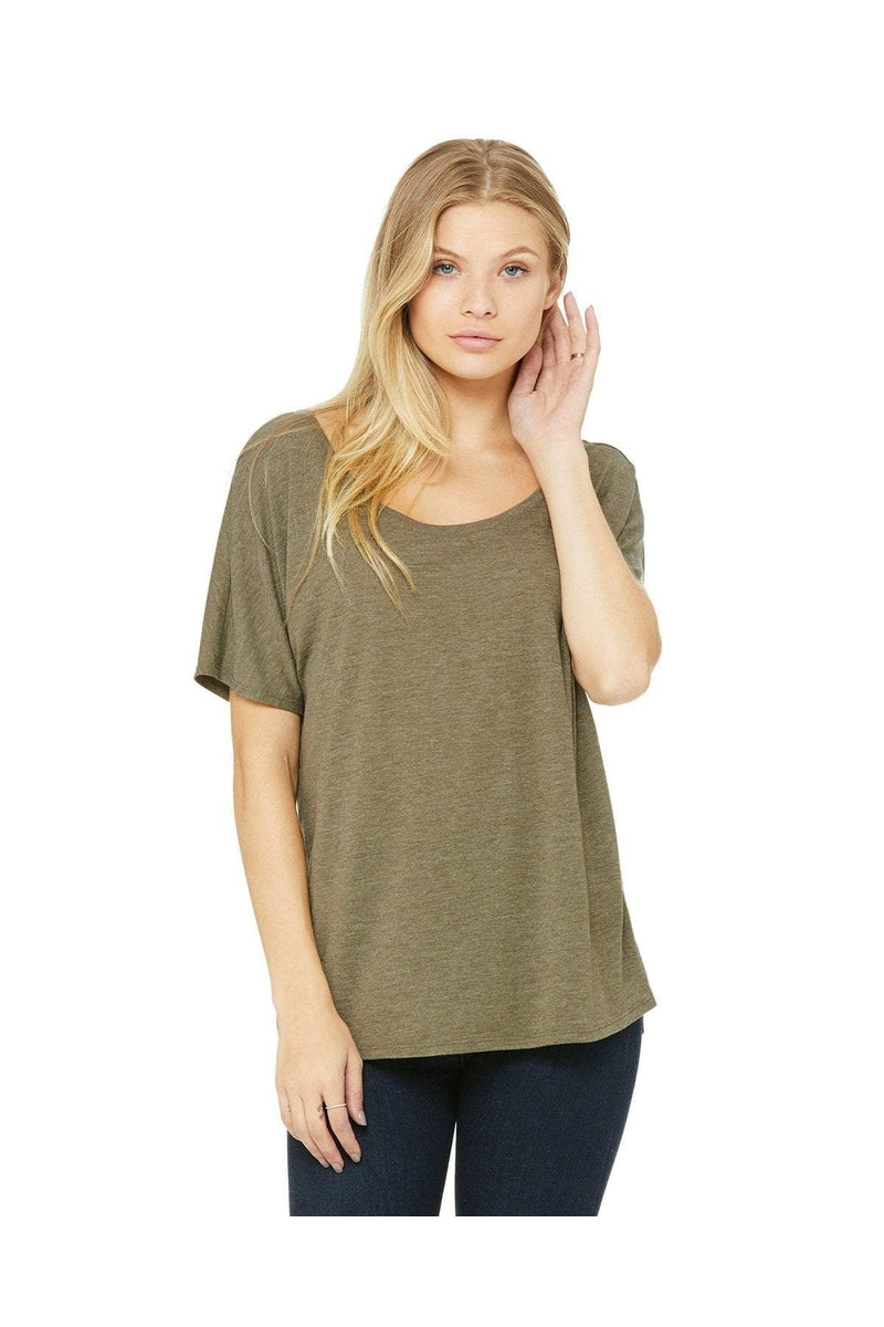 Bella+Canvas 8816: Ladies' Slouchy T-Shirt, Basic Colors-T-Shirts-Bulkthreads.com, Wholesale T-Shirts and Tanks