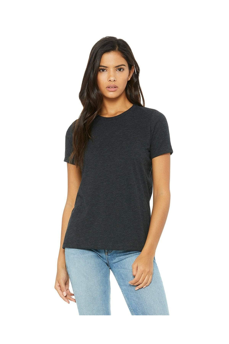 Bella+Canvas B6400: Ladies' Relaxed Jersey Short-Sleeve T-Shirt, Basic Colors-T-Shirts-Bulkthreads.com, Wholesale T-Shirts and Tanks