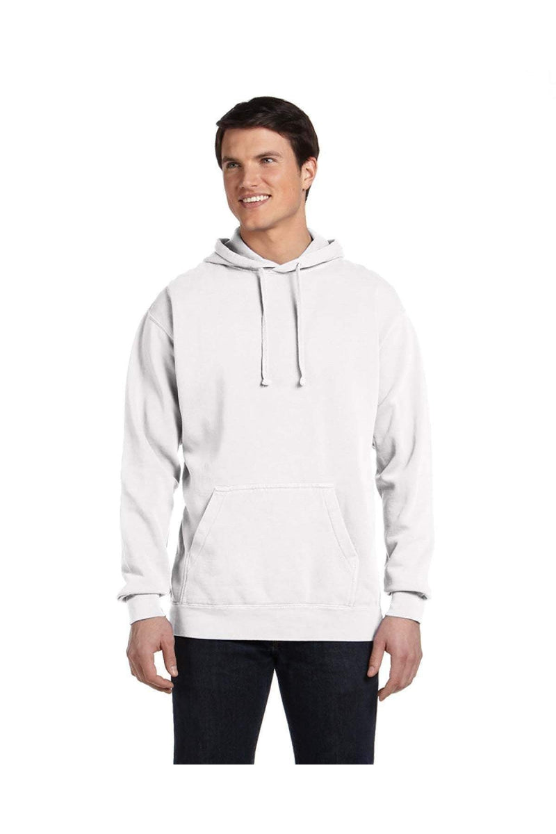 Comfort Colors 1567: Adult Hooded Sweatshirt-Sweatshirts-Bulkthreads.com, Wholesale T-Shirts and Tanks