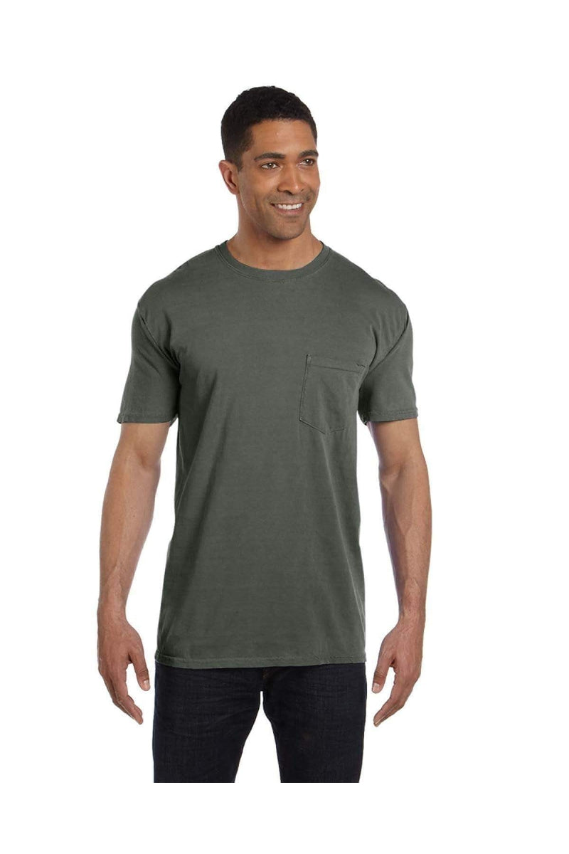 Comfort Colors 6030CC: Adult Heavyweight RS Pocket T-Shirt, Extended Colors
