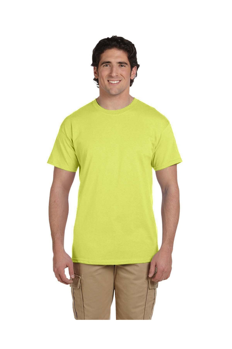 Fruit of the Loom 3931: Adult 5 oz. HD Cotton™ T-Shirt, Extended Colors 6-Fruit of the Loom-Bulkthreads.com