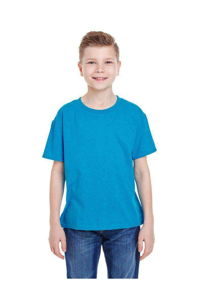 Fruit of the Loom 3931B: 100% HD Cotton, Extended Colors-Youth T-shirt-Bulkthreads.com, Wholesale T-Shirts and Tanks