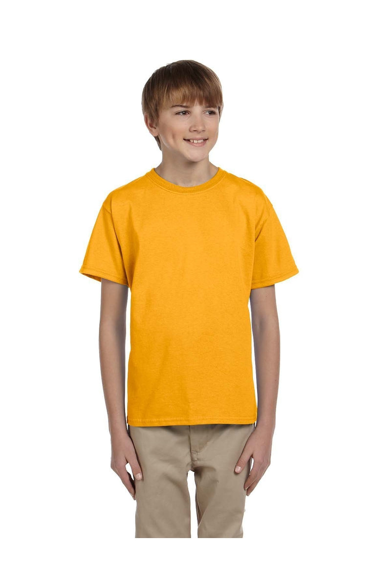 Fruit of the Loom 3931B: Youth 5 oz. HD Cotton™ T-Shirt, Traditional Colors-T-Shirts-Bulkthreads.com, Wholesale T-Shirts and Tanks