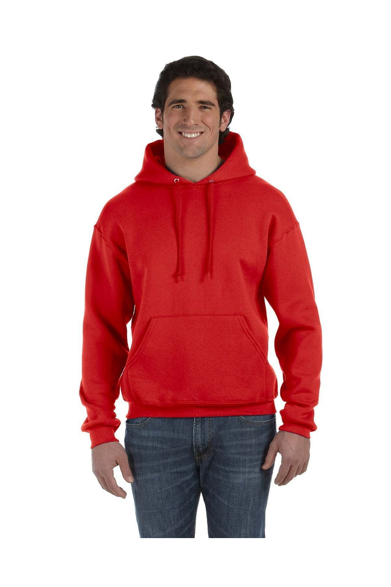 Fruit of the Loom 82130: Adult 12 oz. Supercotton(tm) Pullover Hood-Sweatshirts-Bulkthreads.com, Wholesale T-Shirts and Tanks