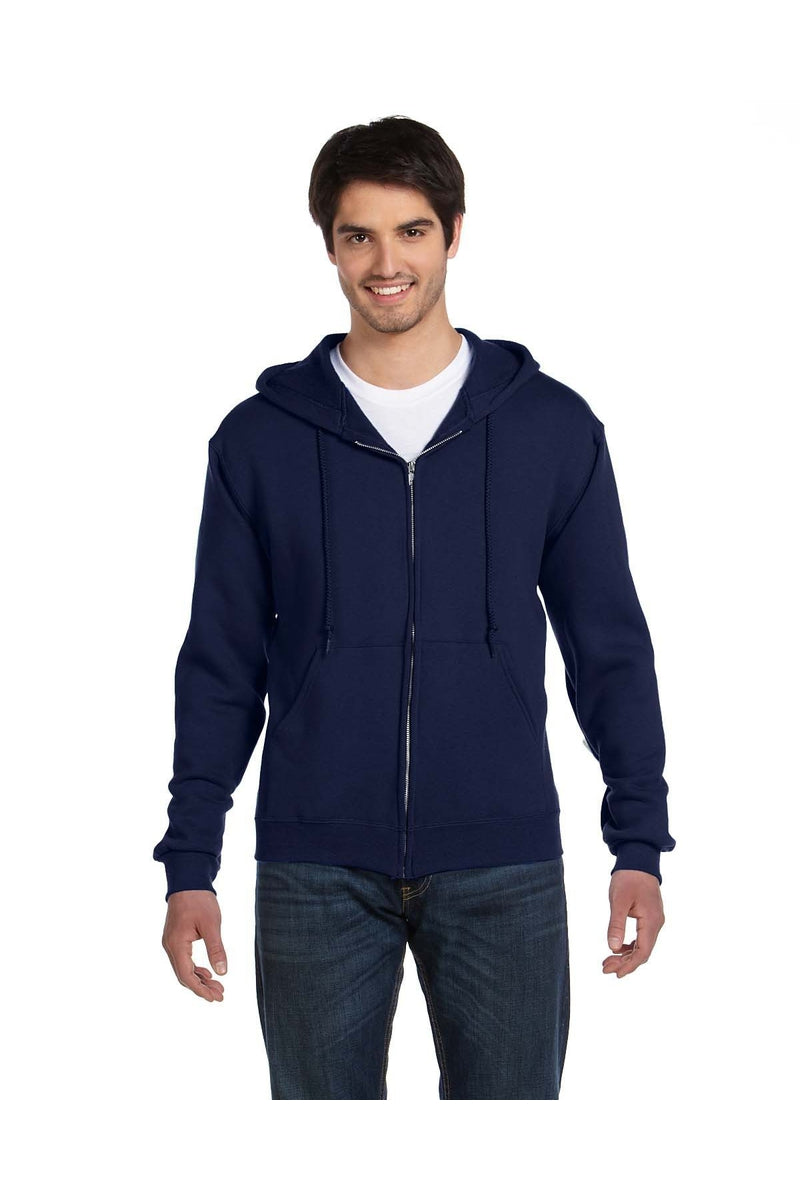 Fruit of the Loom 82230: Adult 12 oz. Supercotton(tm) Full-Zip Hood-Sweatshirts-Bulkthreads.com, Wholesale T-Shirts and Tanks