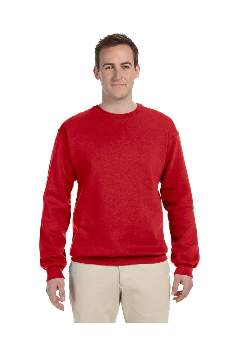 Fruit of the Loom 82300: Adult 12 oz. Supercotton(tm) Fleece Crew-Sweatshirts-Bulkthreads.com, Wholesale T-Shirts and Tanks