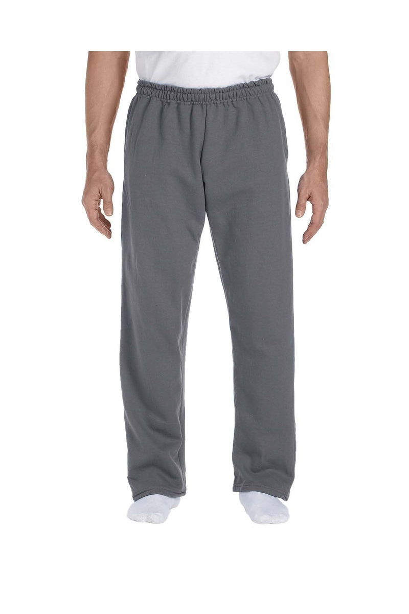 Gildan G123: Adult DryBlend(r) Adult 9 oz., 50/50 Open-Bottom Sweatpants-Gildan-Bulkthreads.com
