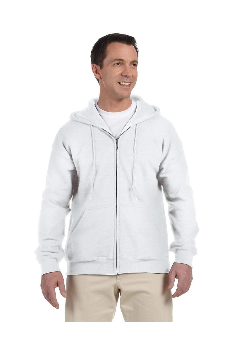 Gildan G126: Adult DryBlend(r) Adult 9 oz., 50/50 Full-Zip Hood-Sweatshirts-Bulkthreads.com, Wholesale T-Shirts and Tanks