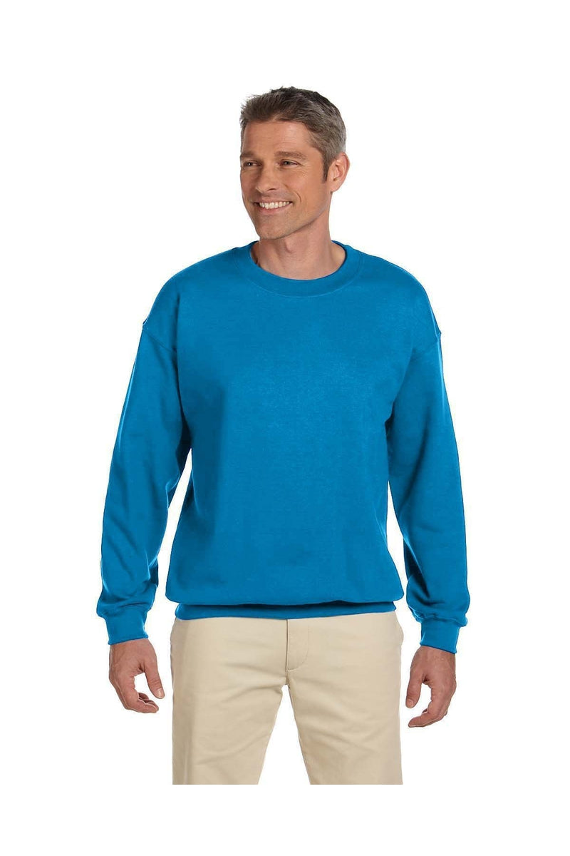 Gildan G180: Adult Heavy Blend(tm) Adult 8 oz., 50/50 Fleece Crew, Basic Colors-Sweatshirts-Bulkthreads.com, Wholesale T-Shirts and Tanks