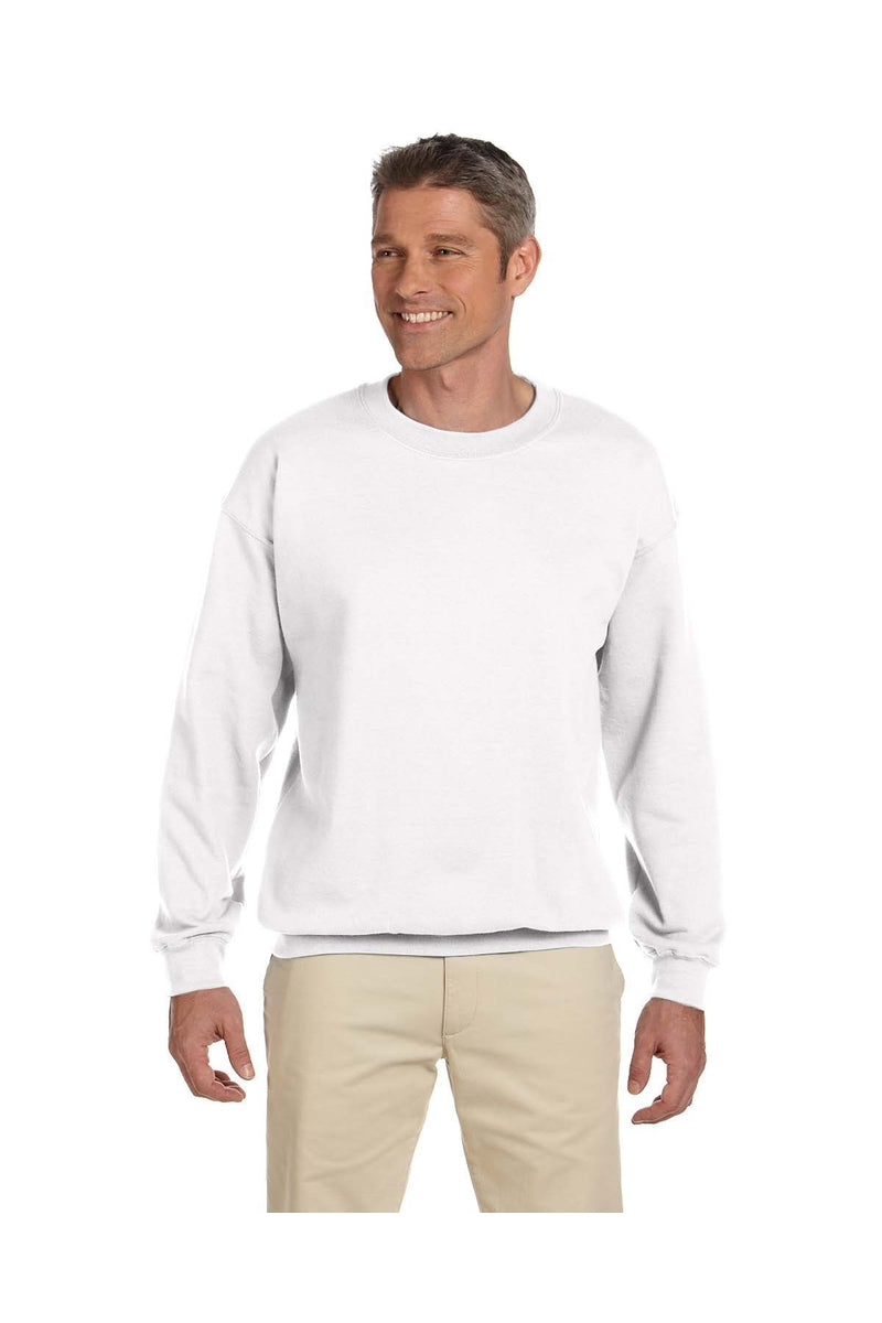 Gildan G180: Adult Heavy Blend(tm) Adult 8 oz., 50/50 Fleece Crew-Sweatshirts-Bulkthreads.com, Wholesale T-Shirts and Tanks