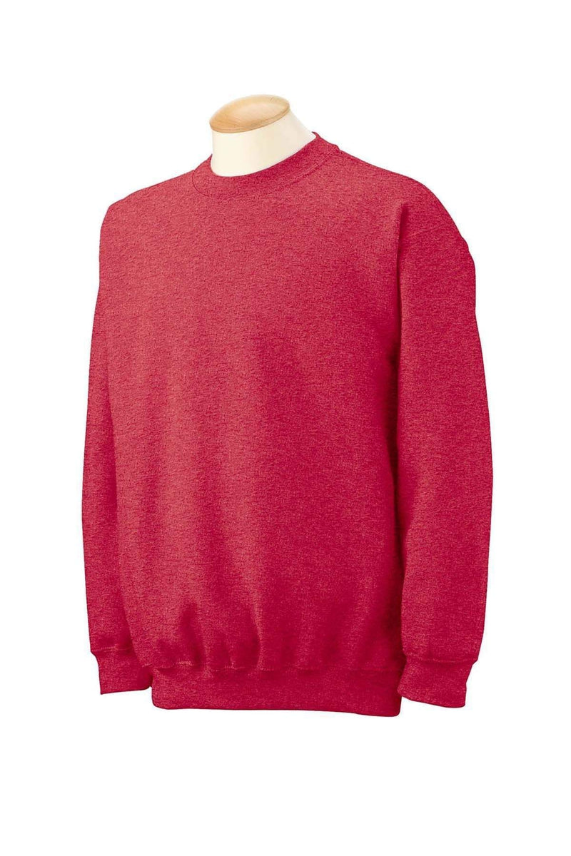Gildan G180: Adult Heavy Blend(tm) Adult 8 oz., 50/50 Fleece Crew, Traditional Colors-Sweatshirts-Bulkthreads.com, Wholesale T-Shirts and Tanks
