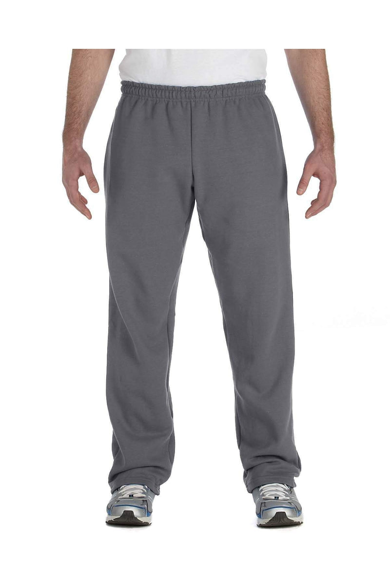 Gildan G184: Adult Heavy Blend(tm) Adult 8 oz., 50/50 Open-Bottom Sweatpants-Gildan-Bulkthreads.com