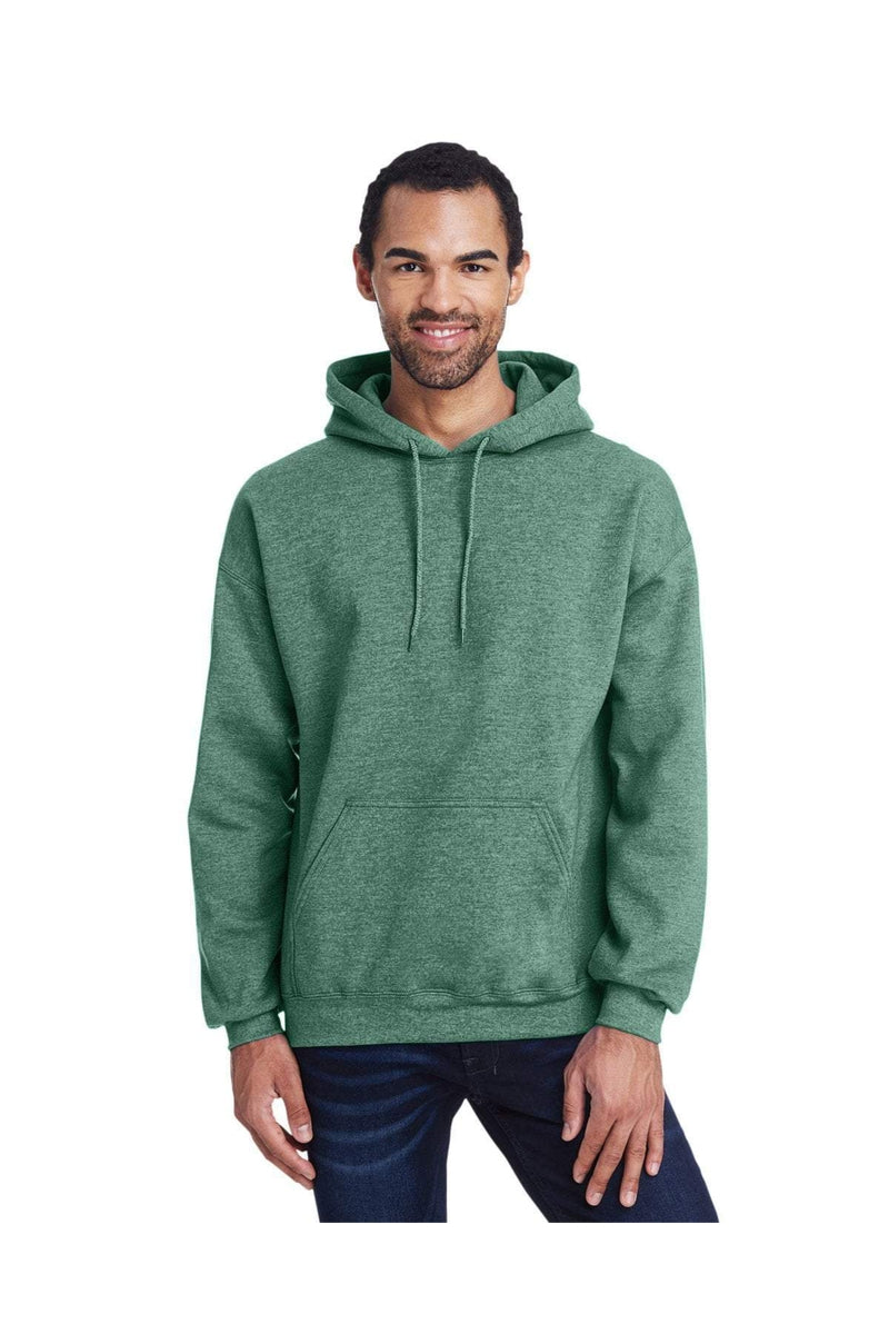Gildan G185: Adult Heavy Blend(tm) 8 oz., 50/50 Hood, Extended Colors-Sweatshirts-Bulkthreads.com, Wholesale T-Shirts and Tanks