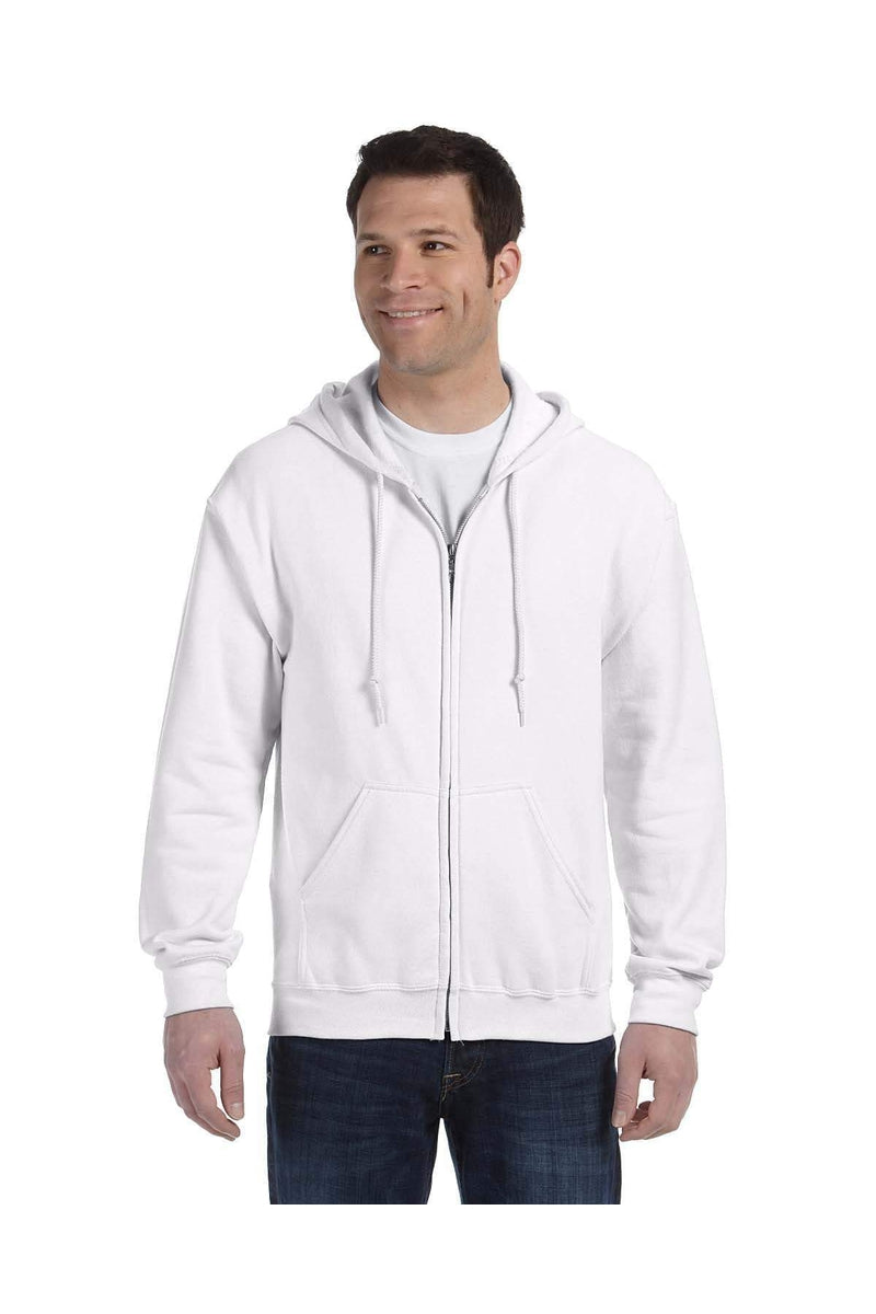 Gildan G186: Adult Heavy Blend(tm) Adult 8 oz., 50/50 Full-Zip Hood-Gildan-Bulkthreads.com