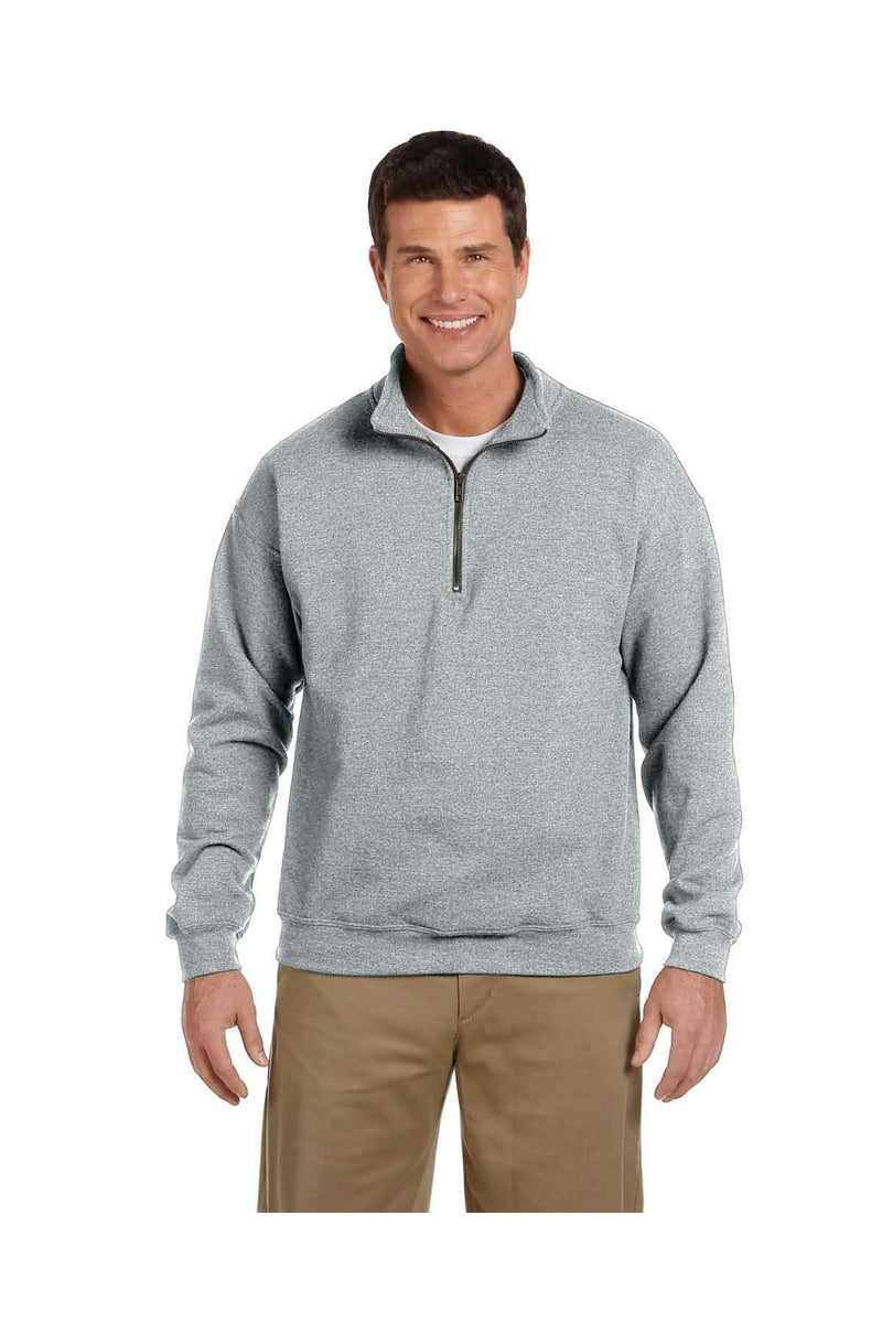 Gildan G188: Adult Heavy Blend(tm) Adult 8 oz. Vintage Cadet Collar Sweatshirt-Gildan-Bulkthreads.com