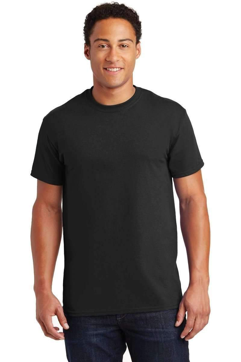 Gildan G200: 100% Ultra Cotton-Men's T-shirt-Gildan-S-Black-wholesale t shirts -Bulkthreads.com