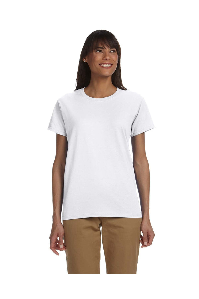 Gildan G200L: Ladies' Ultra Cotton® 6 oz. T-Shirt, Basic Colors-T-Shirts-Bulkthreads.com, Wholesale T-Shirts and Tanks