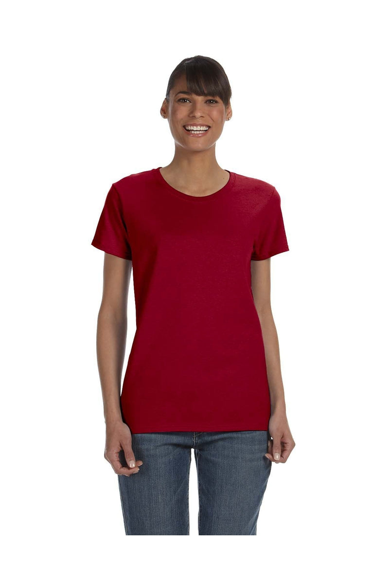 Gildan G500L: Ladies' 5.3 oz. T-Shirt, Basic Colors-T-Shirts-Bulkthreads.com, Wholesale T-Shirts and Tanks