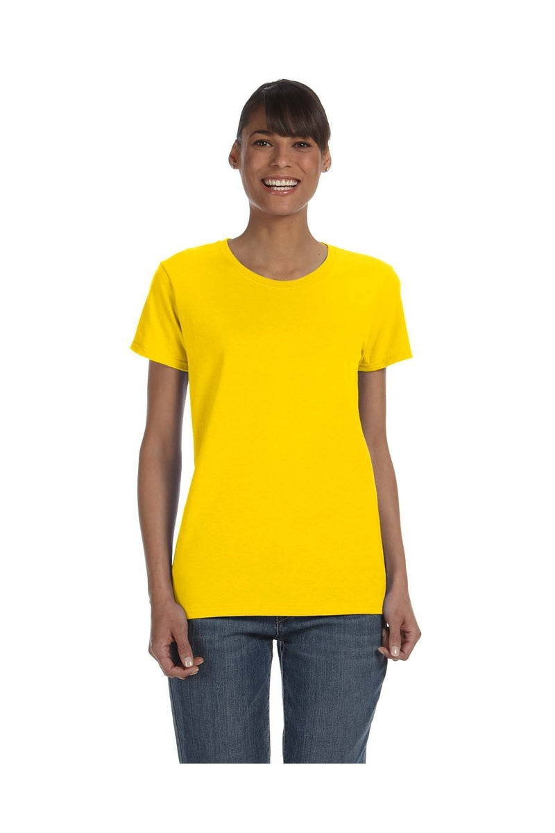 Gildan G500L: Ladies' 5.3 oz. T-Shirt-T-Shirts-Bulkthreads.com, Wholesale T-Shirts and Tanks