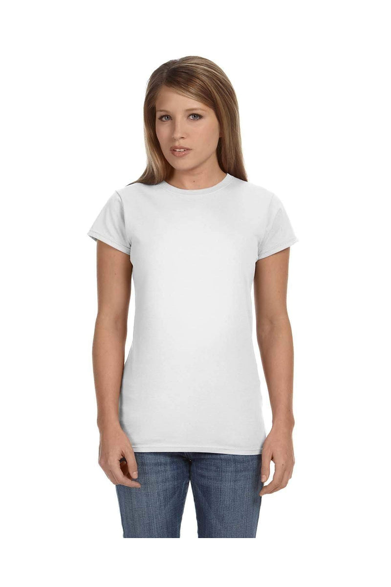 Gildan G640L: Ladies' Softstyle® 4.5 oz. Fitted T-Shirt, Traditional Colors-T-Shirts-Bulkthreads.com, Wholesale T-Shirts and Tanks
