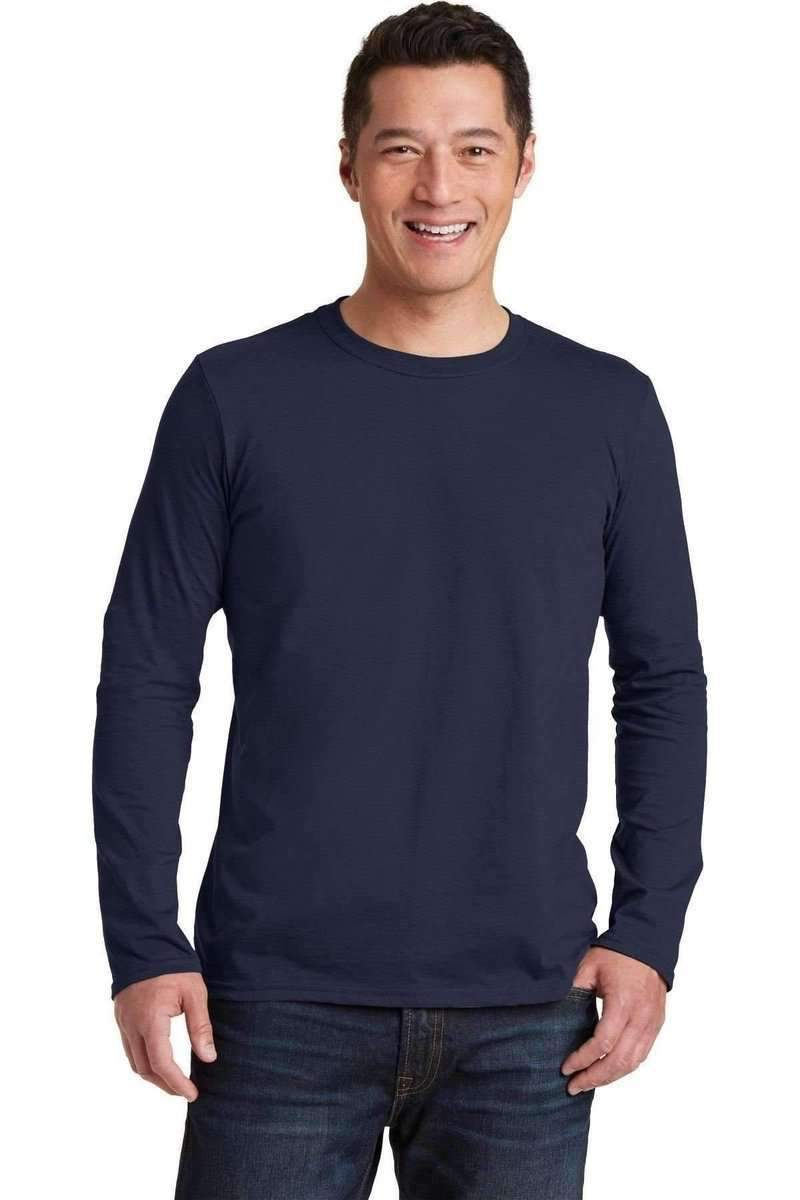 Gildan G644: Softstyle Long Sleeve T-Shirt-T-Shirts-Bulkthreads.com, Wholesale T-Shirts and Tanks
