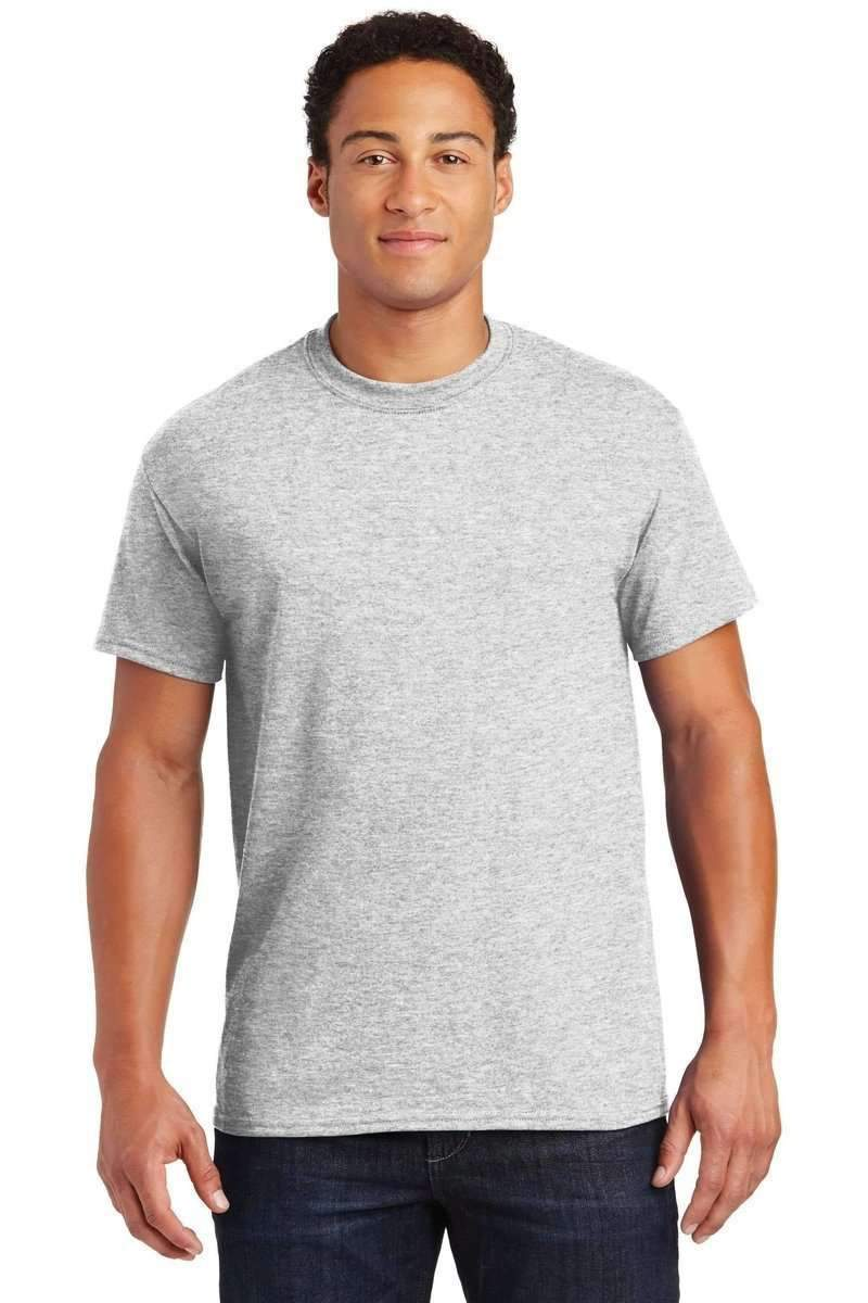 Gildan G800: 50 / 50 Poly-Cotton Blend-Men's T-shirt-Gildan-S-Ash-wholesale t shirts -Bulkthreads.com