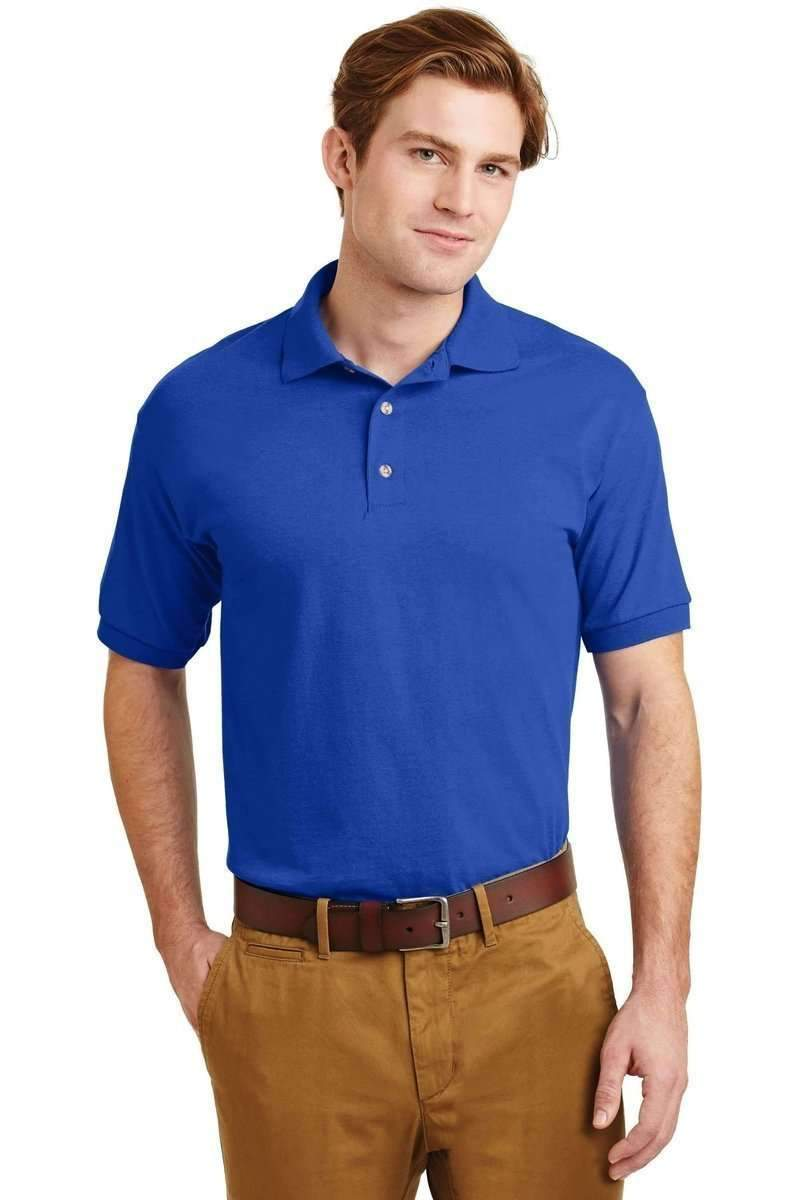 Gildan G880: Moisture-Wicking, Jersey-Knit Sport Shirt-Men's Polo Shirt-Gildan-S-Royal-wholesale t shirts -Bulkthreads.com