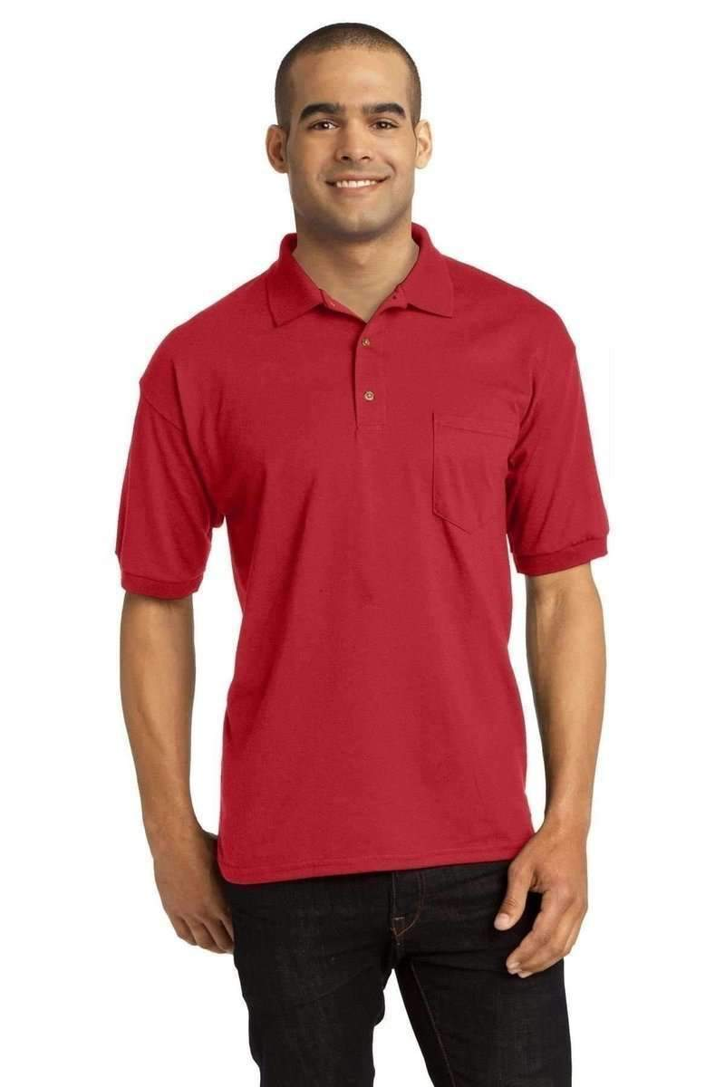 Gildan G890: DryBlend Jersey Knit Sport Shirt with Pocket-Polos/Knits-Bulkthreads.com, Wholesale T-Shirts and Tanks