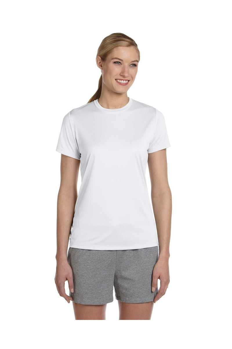 Hanes 4830: Ladies' Cool DRI® with FreshIQ Performance T-Shirt-T-Shirts-Bulkthreads.com, Wholesale T-Shirts and Tanks