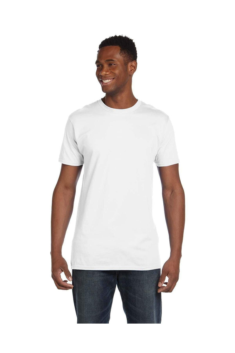 Hanes 4980: Adult 4.5 oz., 100% Ringspun Cotton nano-T® T-Shirt, Extended Colors 2-T-Shirts-Bulkthreads.com, Wholesale T-Shirts and Tanks