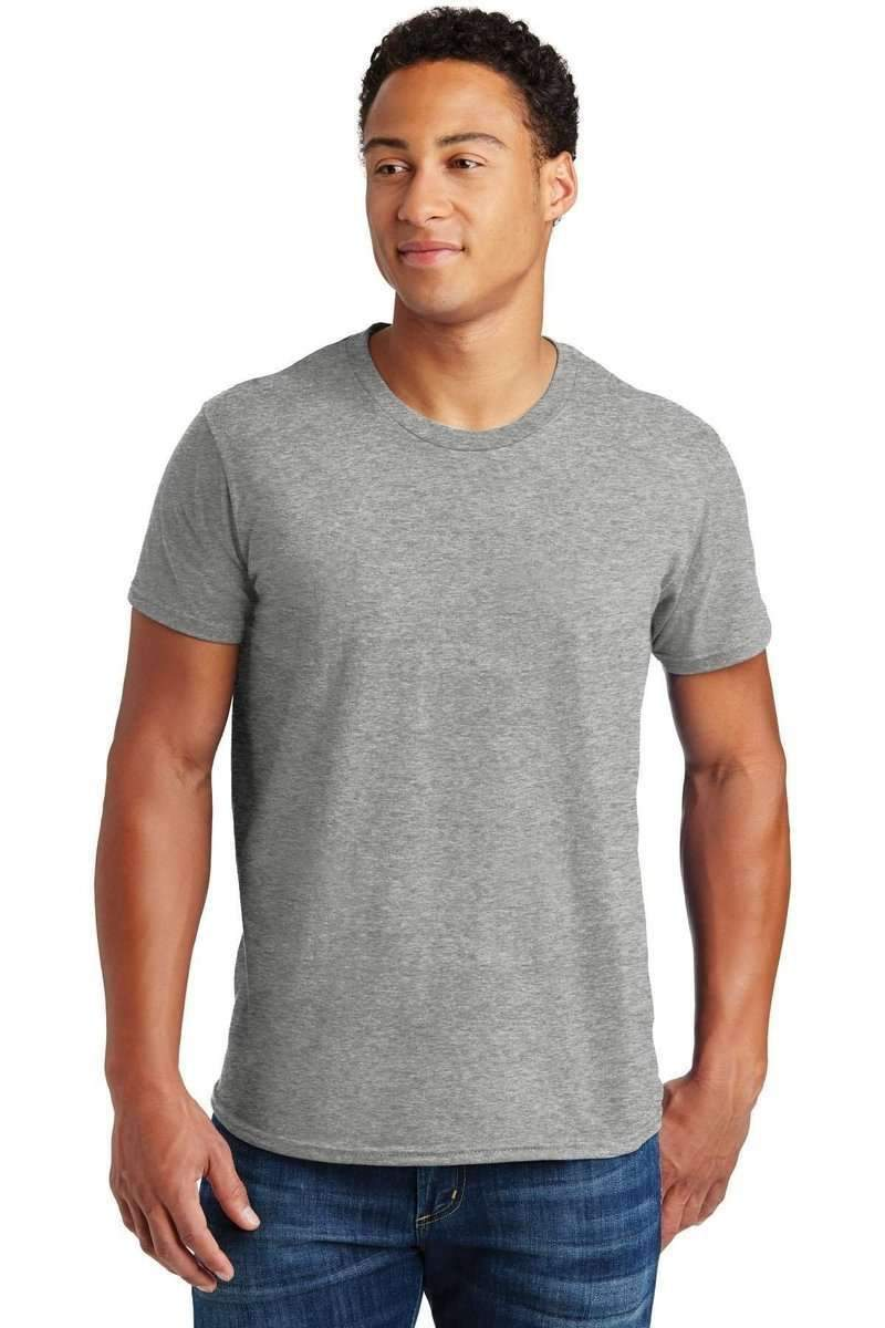 Hanes 4980: Nano-T Cotton T-Shirt.-T-Shirts-Bulkthreads.com, Wholesale T-Shirts and Tanks
