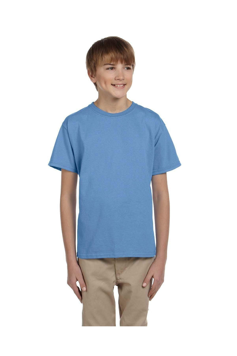 Hanes 5370: Youth 5.2 oz., 50/50 EcoSmart® T-Shirt, Basic Colors-T-Shirts-Bulkthreads.com, Wholesale T-Shirts and Tanks