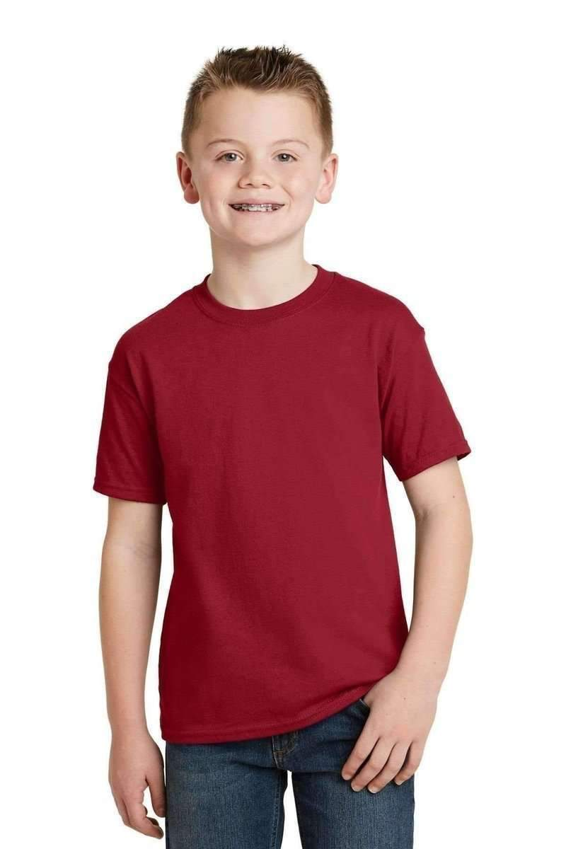 2b6ccc28 Hanes 5370: Youth EcoSmart 50/50 Cotton/Poly T-Shirt-T