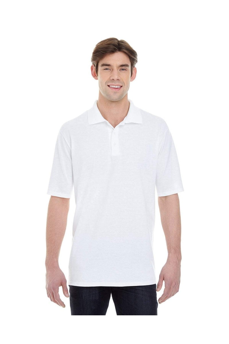 Hanes 055P: Men's 6.5 oz. X-Temp(r) Pique Short-Sleeve Polo with Fresh IQ-Polos-Bulkthreads.com, Wholesale T-Shirts and Tanks