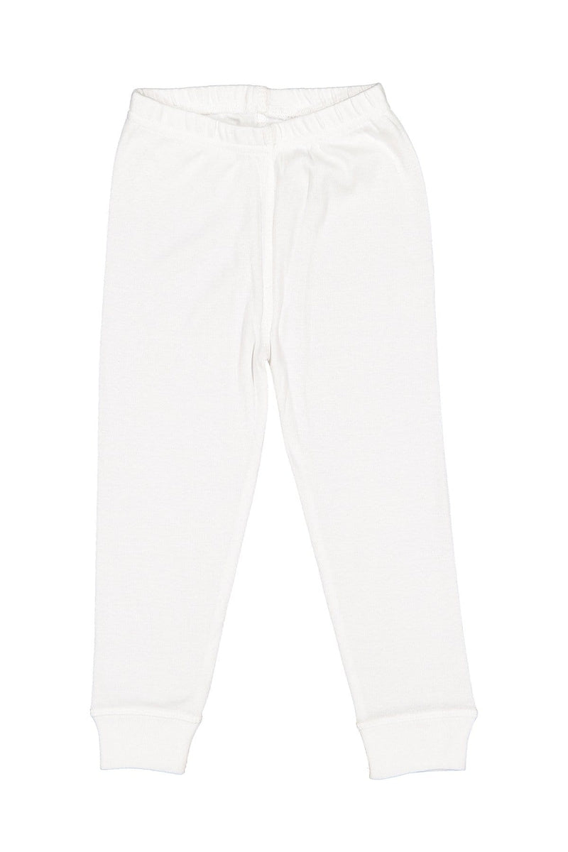 Rabbit Skins 202Z: Toddler Baby Rib Pajama Pant-Infants | Toddlers-Bulkthreads.com, Wholesale T-Shirts and Tanks