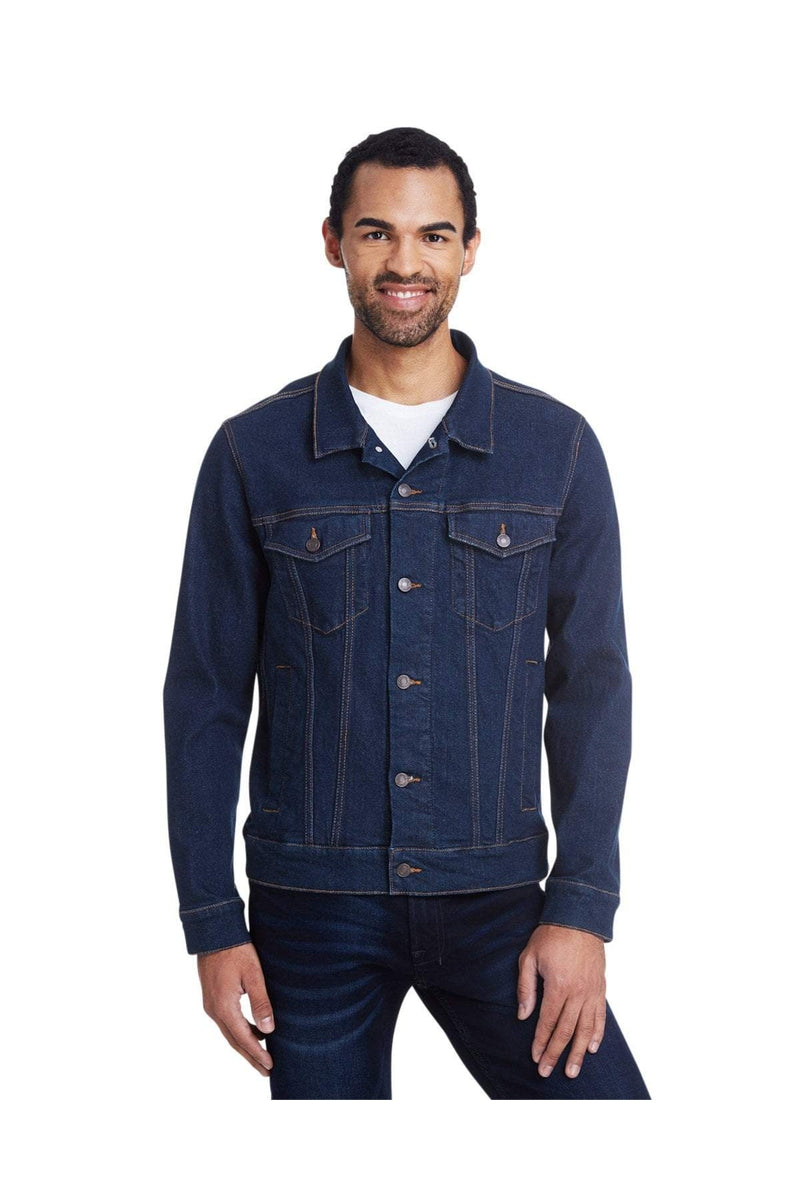 Threadfast Apparel 370J: Unisex Denim Jacket-Outerwear-Bulkthreads.com, Wholesale T-Shirts and Tanks
