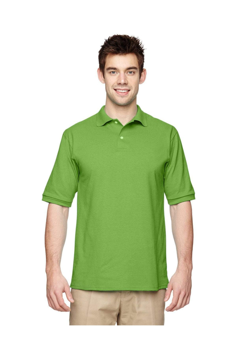 Jerzees 437: Adult 5.6 oz. SpotShield(tm) Jersey Polo, Traditional Colors-Polos-Bulkthreads.com, Wholesale T-Shirts and Tanks