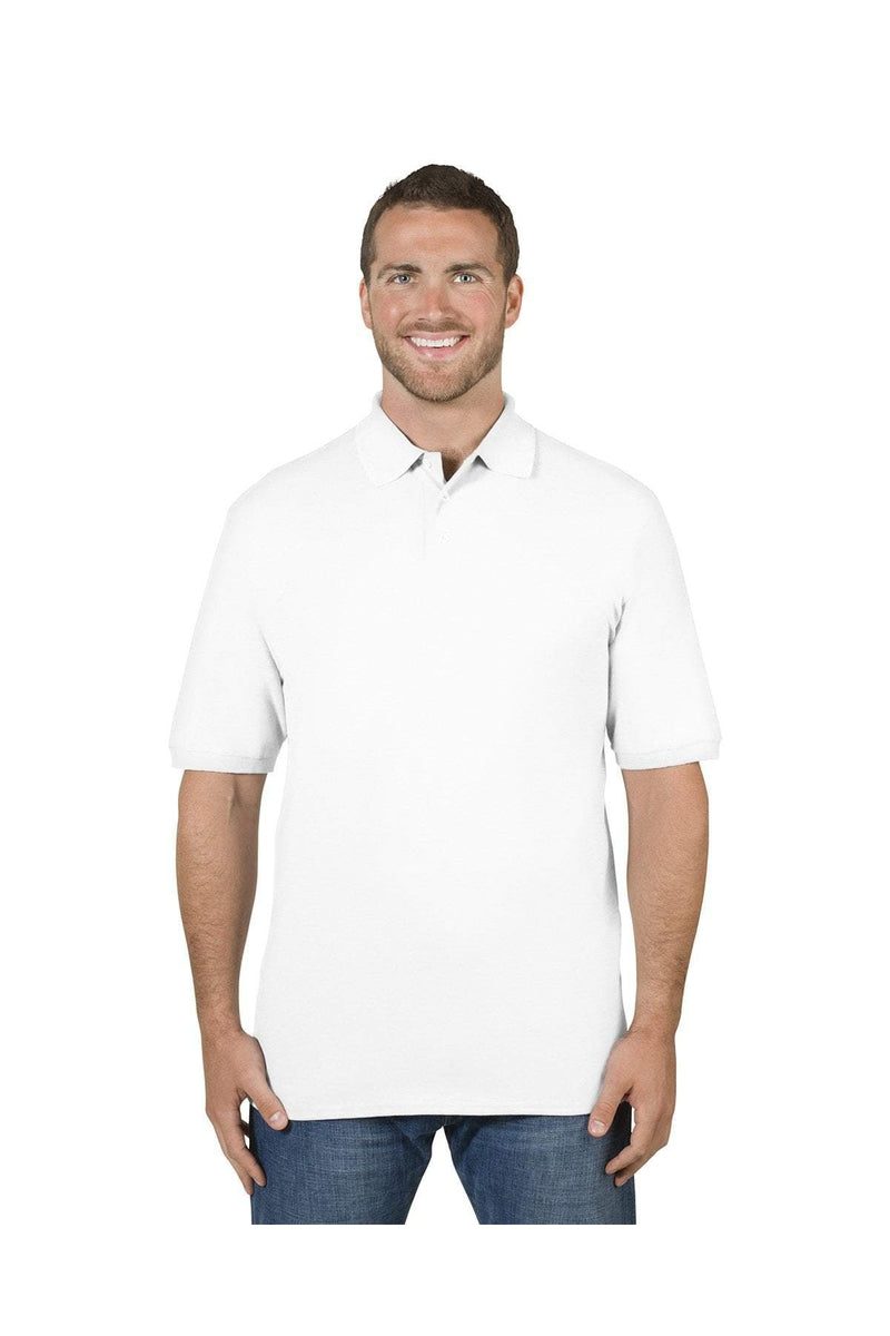 Jerzees 443MR: Adult 6.5 oz. Premium 100% Ringspun Cotton Pique Polo-Polos-Bulkthreads.com, Wholesale T-Shirts and Tanks