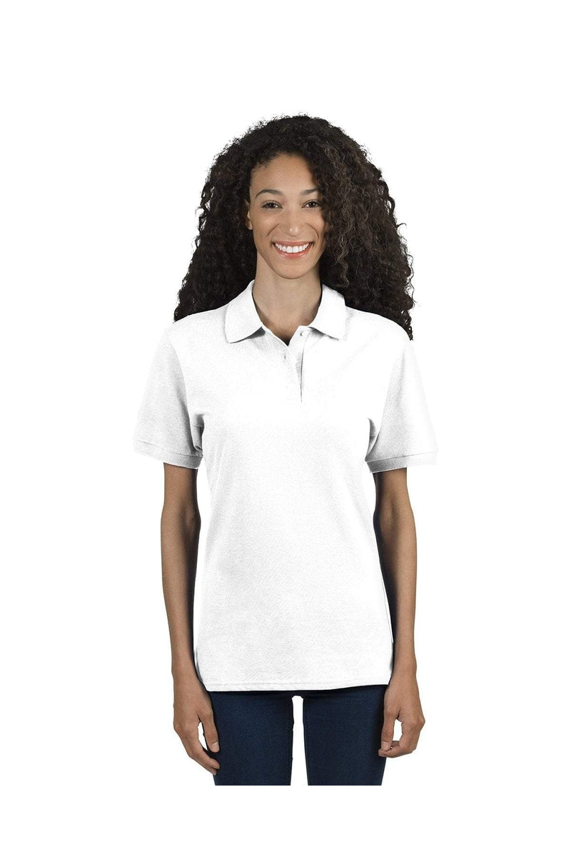Jerzees 443WR: Ladies' 6.5 oz. Premium 100% Ringspun Cotton Pique Polo-Polos-Bulkthreads.com, Wholesale T-Shirts and Tanks