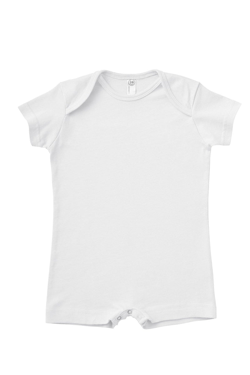 Rabbit Skins 4486: Infant Premium Jersey T-Shirt Romper-Infants | Toddlers-Bulkthreads.com, Wholesale T-Shirts and Tanks