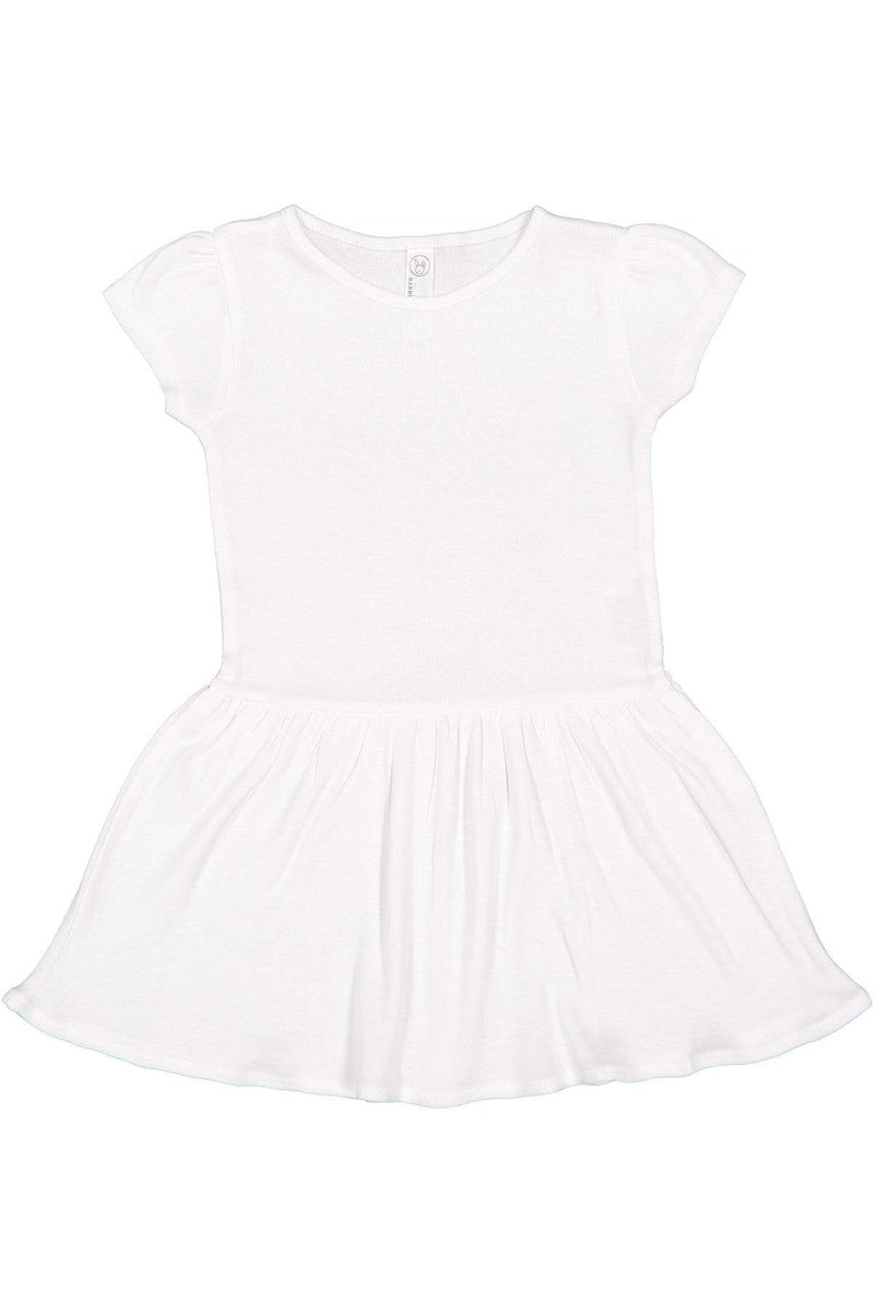 Rabbit Skins 5323: Toddler Baby Rib Dress-Infants | Toddlers-Bulkthreads.com, Wholesale T-Shirts and Tanks