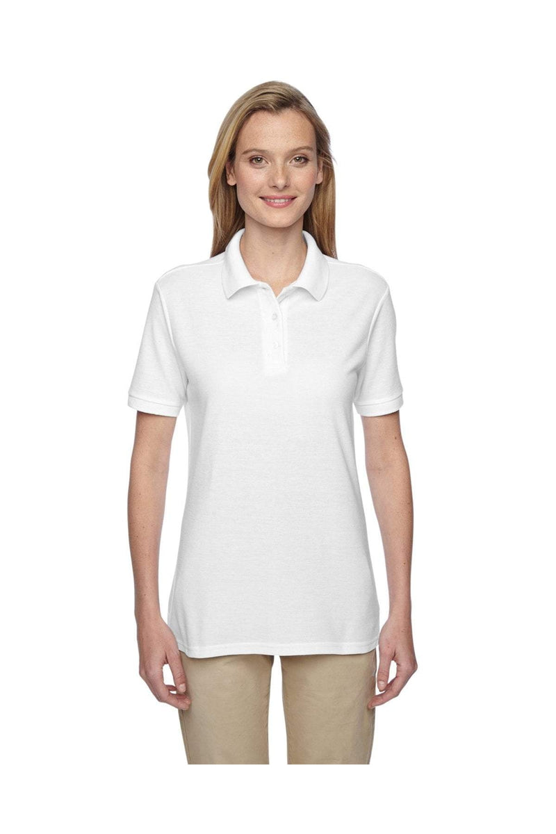 Jerzees 537WR: Ladies' 5.3 oz. Easy Care(tm) Polo-Polos-Bulkthreads.com, Wholesale T-Shirts and Tanks
