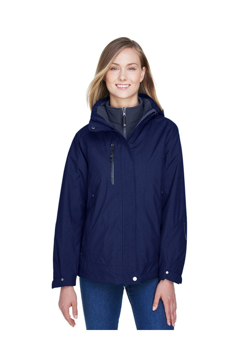 Ash City - North End 78178: Ladies' Caprice 3-in-1 Jacket with Soft Shell Liner