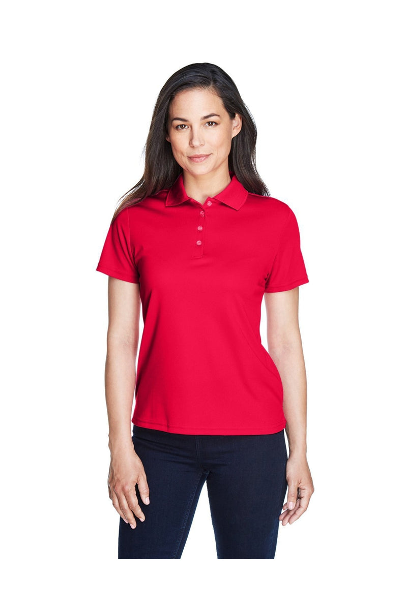 Ash City - Core 365 78181: Ladies' Origin Performance Pique Polo, Basic Colors-Polos-Bulkthreads.com, Wholesale T-Shirts and Tanks