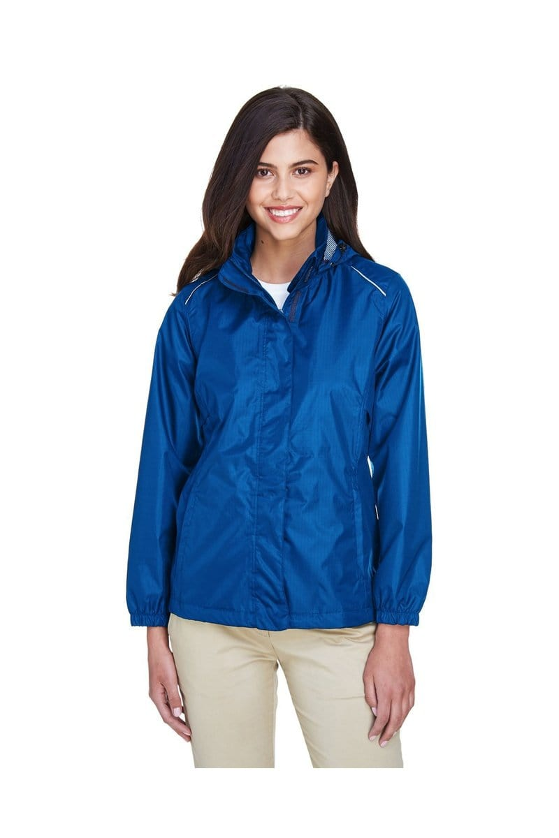 Ash City - Core 365 78185: Ladies' Climate Seam-Sealed Lightweight Variegated Ripstop Jacket-Outerwear-Bulkthreads.com, Wholesale T-Shirts and Tanks
