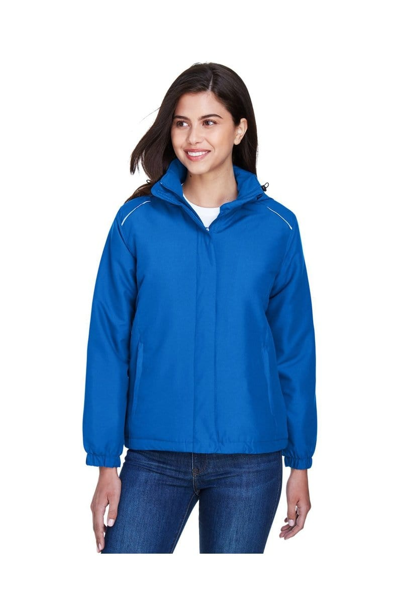 Ash City - Core 365 78189: Ladies' Brisk Insulated Jacket-Outerwear-Bulkthreads.com, Wholesale T-Shirts and Tanks