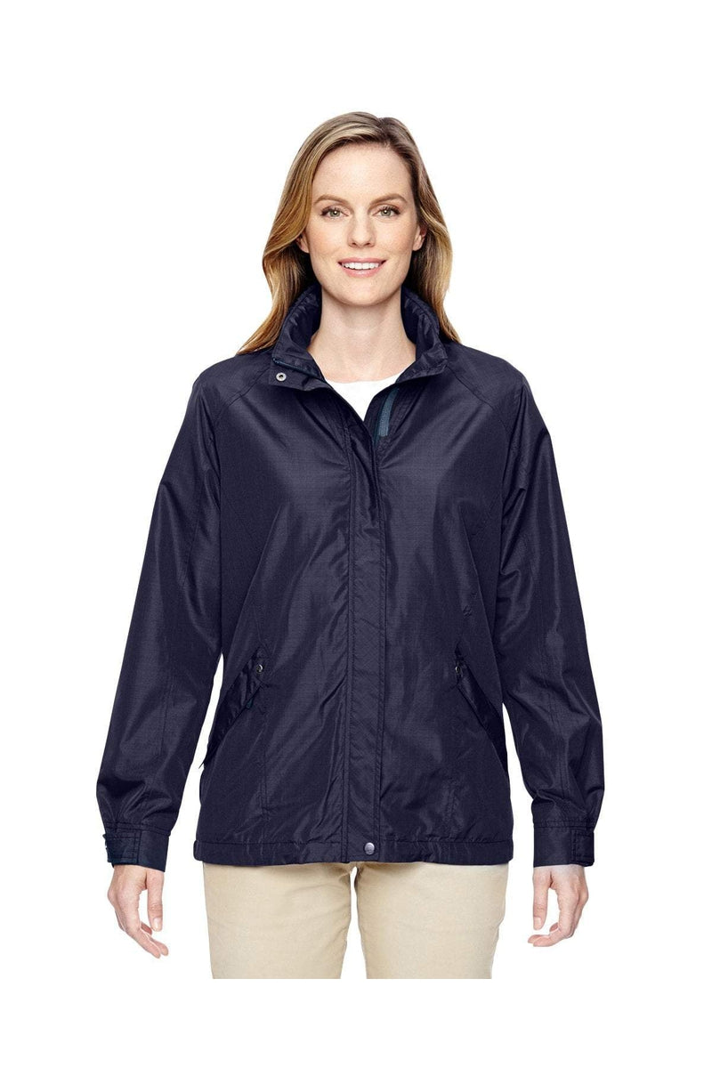 Ash City - North End 78216: Ladies' Excursion Transcon Lightweight Jacket with Pattern-Outerwear-Bulkthreads.com, Wholesale T-Shirts and Tanks