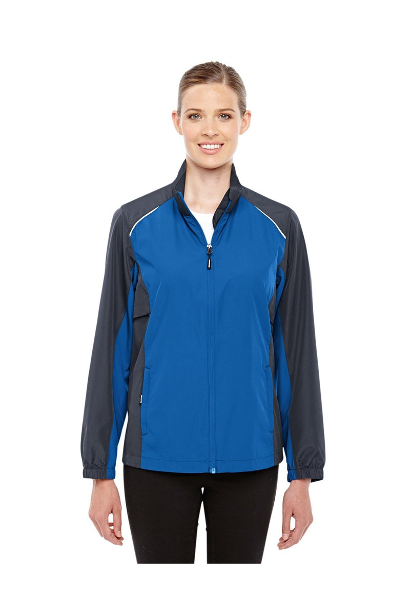 Ash City - Core 365 78223: Ladies' Stratus Colorblock Lightweight Jacket-Outerwear-Bulkthreads.com, Wholesale T-Shirts and Tanks