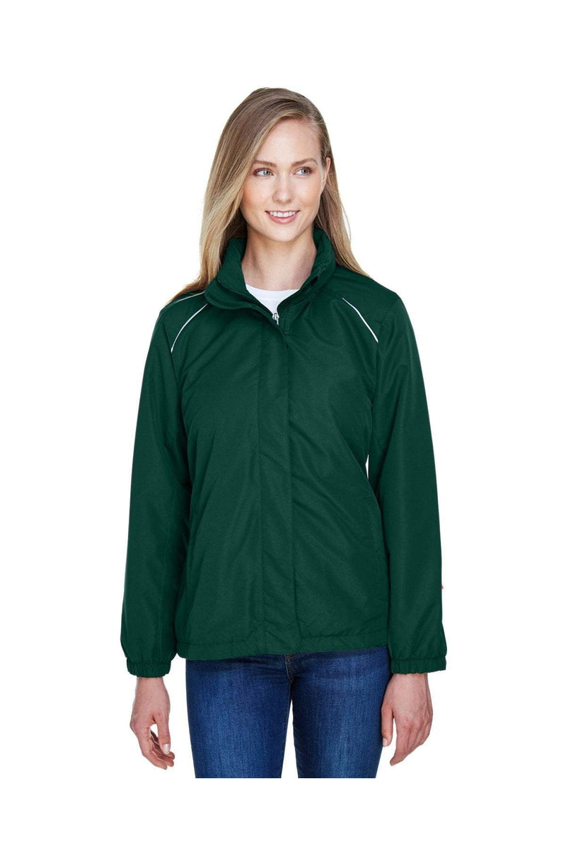 Ash City - Core 365 78224: Ladies' Profile Fleece-Lined All-Season Jacket-Outerwear-Bulkthreads.com, Wholesale T-Shirts and Tanks