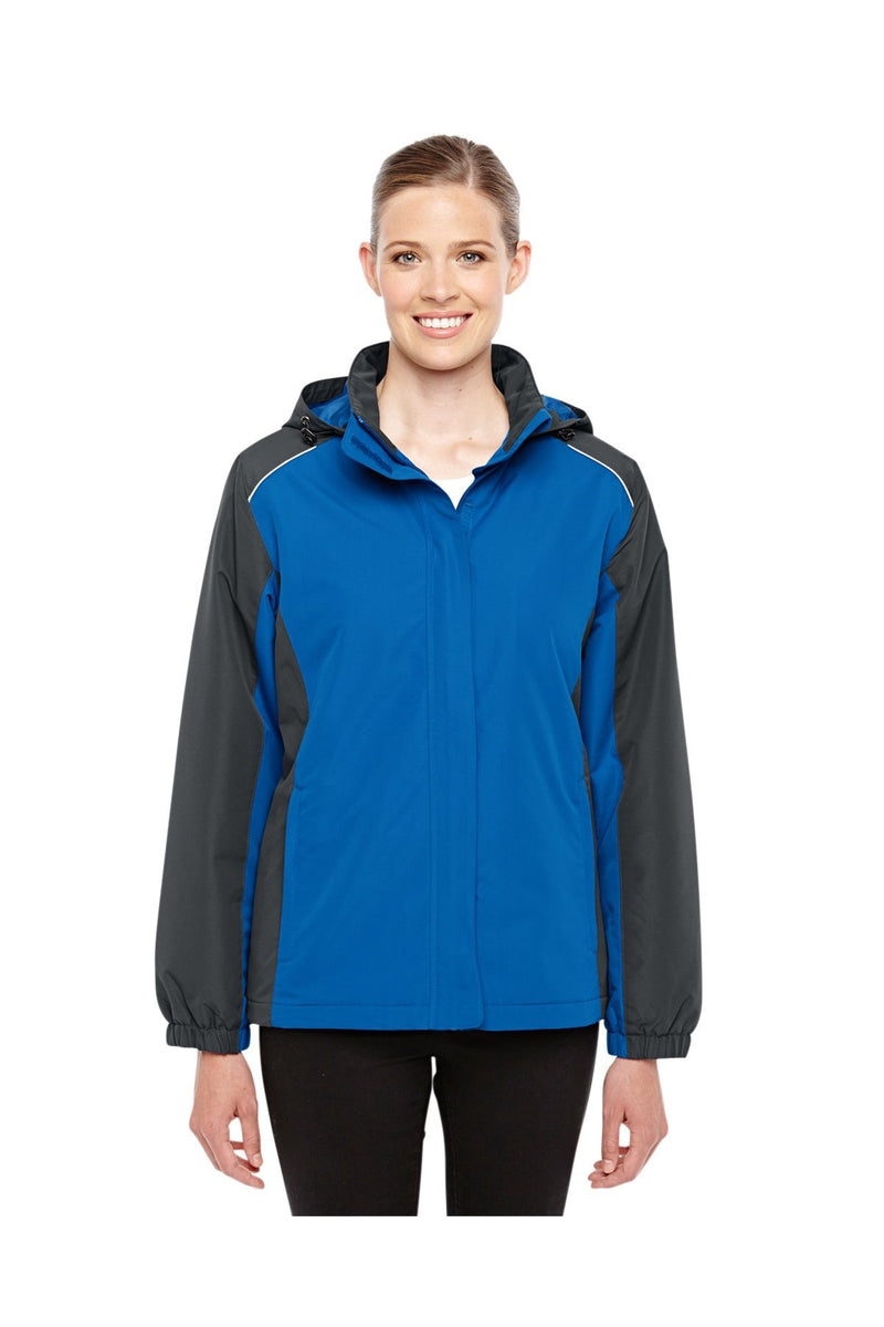 Ash City - Core 365 78225: Ladies' Inspire Colorblock All-Season Jacket-Outerwear-Bulkthreads.com, Wholesale T-Shirts and Tanks